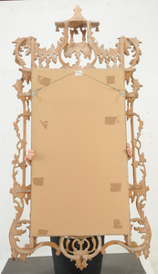 Chinese Chippendale Style Carved Mirror