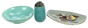 Three Mid Century Studio Ceramics