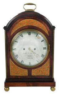 Federal John J. Parry Philadelphia Bracket Clock
