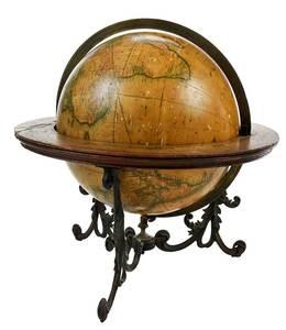 Merriam Moore & Co. Terrestrial Globe