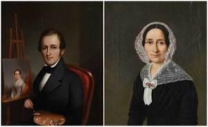 Two Portrait Miniature Paintings