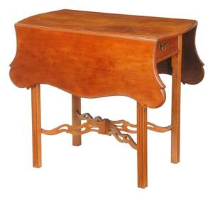 American Chippendale Cherry Pembroke Table