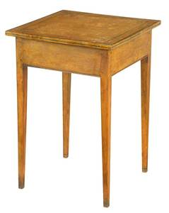 Federal Style Paint Decorated Side Table