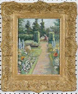 French School Impressionist Painting