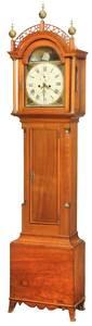 Rare Massachusetts Federal Tall Case Clock
