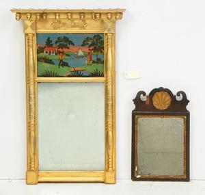Queen Anne, Federal Églomisé Mirrors