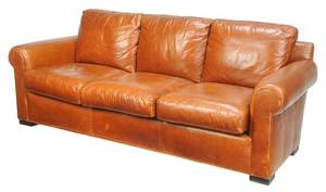 Whittemore-Sherrill Leather Upholstered Sofa