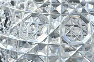 Cut Glass Pedestal Decanter