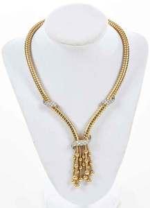 18kt. Gold & Diamond Necklace