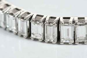 Platinum Diamond Tennis Bracelet