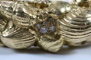 Elizabeth Gage 18kt. Gold and Diamond Bracelet