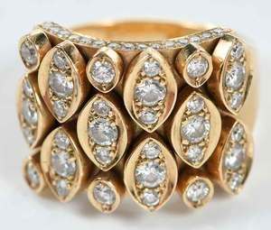 Cartier 18kt. Diamond Ring