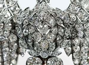 Platinum, Gold & Diamond Brooch, Elephant Brooch