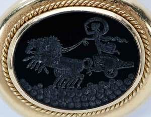 18kt. Gold Intaglio Pendant