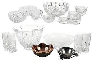 Assorted Tableware, Tiffany, Baccarat, Yeoward
