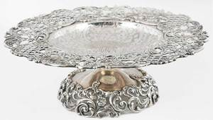 Roger Williams Sterling Compote