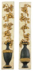 Pair Decorative Wall Plaques