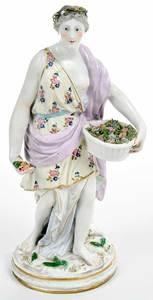 Samson Porcelain Figure of Season