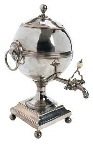 Old Sheffield Plate Hot Water Urn