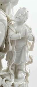 Chinese Export Porcelain Blanc de Chine Figure