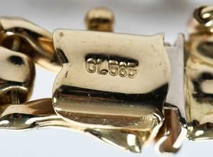 Gold Necklace & Bracelet