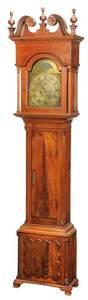 Fine Pennsylvania Chippendale Tall Case Clock