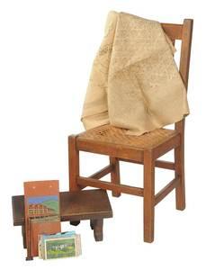 Group Asheville Memorabilia, Arts & Crafts Chair