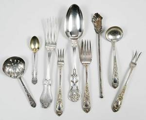 Assorted Sterling Flatware, 35 pieces