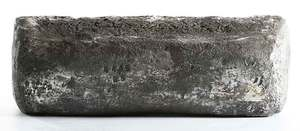 Large Silver Ingot from Atocha Shipwreck
