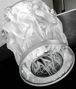 Lalique Bacchantes Glass Vase