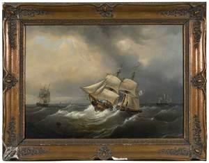 British or American School Maritime Painting