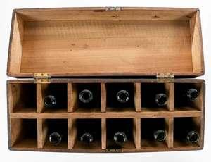 J. H. Cocke Family Bottle, Traveling Bottle Box