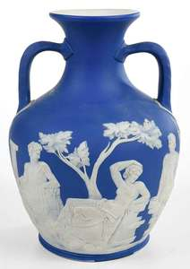 Grand Tour Wedgwood Jasperware Portland Vase