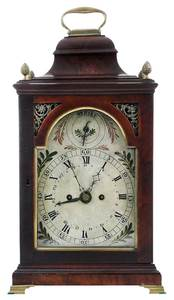 Fine Philadelphia Federal Bracket Clock