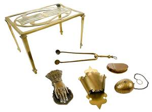 Six Brass Accessories