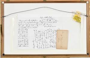 Framed Robert E. Lee Historical Memorabilia