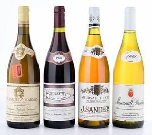 Four Vintage Bottles Meursault