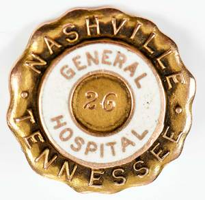 10kt. Gold Hospital Pin