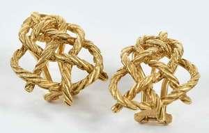 Bucellatti 18kt. Gold Earrings