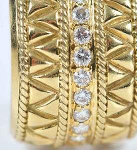 18kt. Gold Diamond Earrings