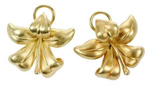 Angela Cummings 18kt. Gold Earrings