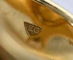 Elizabeth Gage 18kt. Gold and Gemstone Ring