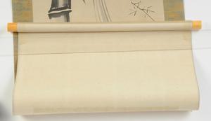 Four Japanese Scrolls, Cranes, Rabbits