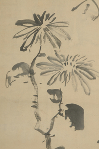 Four Japanese Scrolls, Chrysanthemum, Bamboo