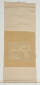 Four Japanese Scrolls, Seascape, Snowscape