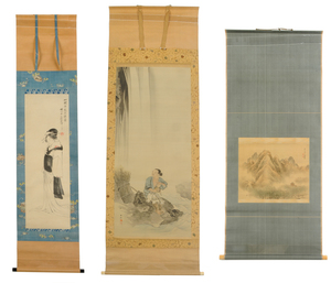 Three Japanese Scrolls