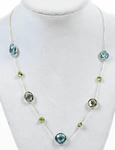 14kt. Gold Gemstone Necklace