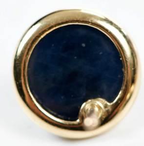Three 14kt. Gold & Gemstone Earrings