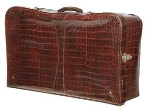 Vintage Pedro Díaz Crocodile Suitcase