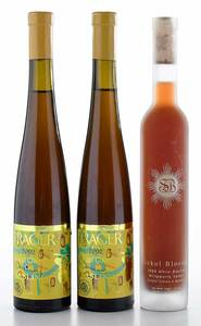 Three Vintage Bottles West Coast Riesling